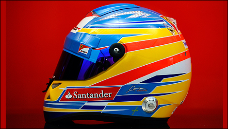 miniature ferrari casque fernando alonso 2012 schubert mini helmet 1 2 50344. Black Bedroom Furniture Sets. Home Design Ideas