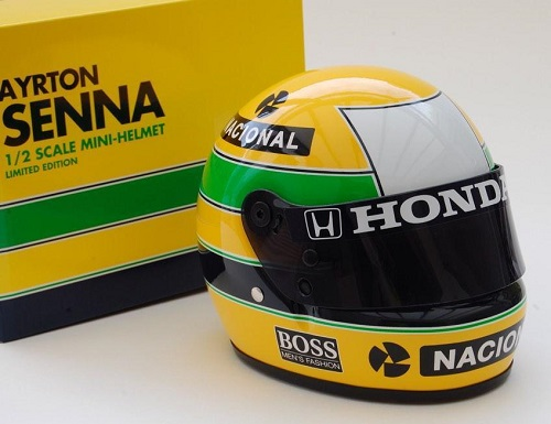 mclaren honda casque bell ayrton senna 1988 sport mini line 70010400 1 2. Black Bedroom Furniture Sets. Home Design Ideas