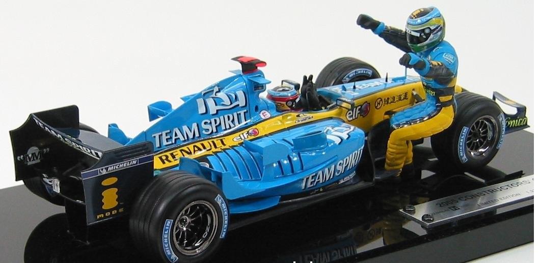 Renault F1 R24 Alonso [Heller]  Maquettes ou Kits à monter  Modélisme et